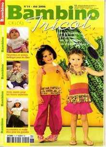 Burda Bambino Tricot №14 2006