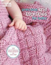 Precious Knit Blankies for Baby - 2011