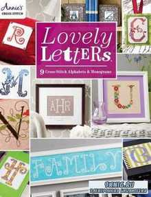 Lovely Letters: 9 Cross-Stitch Alphabets & Monograms