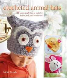 Crocheted Animal Hats:35 - 2017