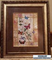 Вышивка крестом - Торжество сверкающих бабочек