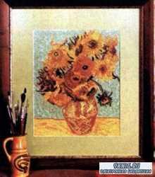Вишивка крестом. Коллекция схем - Репродукции знаменитых картин в схемах