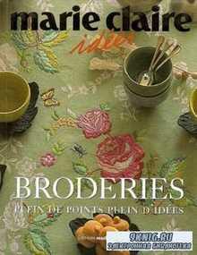 Marie Claire Idees: Broderies Plein de points Plein d'idees (Идеи для выши ...