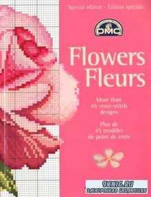 Вышивка крестом. Коллекция схем - Flowers fleurs