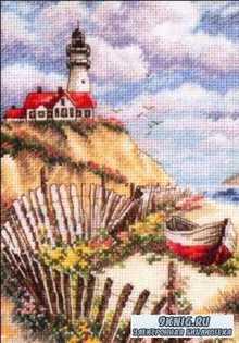Вышивка крестом. Коллекция схем - морские пейзажи