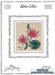 Вышивка крестом. Коллекция схем - Цветы. The Lilac Studio
