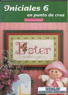 Artime Iniciales. 8 журналов по вышивке крестиком
