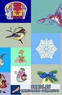 Ace Points Embroidery - коллекция дизайнов для машинной вышивки