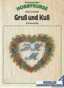 Jutta Lammer - Gru? und Ku? in Kreuzstich