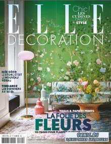 Elle Decoration №261  (апрель /  2018) France