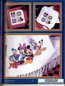 Вышивка крестом. Коллекция схем - Disney Микки Маус и компания