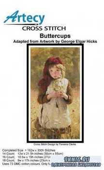 Artecy Cross Stitch - Buttercups
