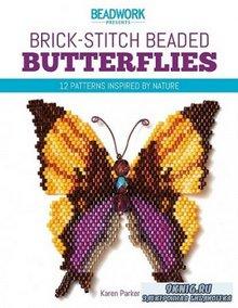 Brick-Stitch Beaded Butterflies
