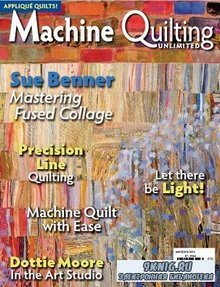 Machine Quilting Unlimited Vol.XIV No.3 2014