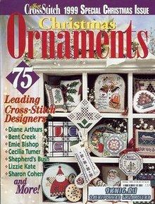 Just Cross Stitch - Christmas Ornaments 1999