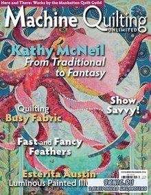 Machine Quilting Unlimited Vol.XVI №6 2016