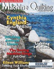 Machine Quilting Unlimited Vol.XVII №3 2017