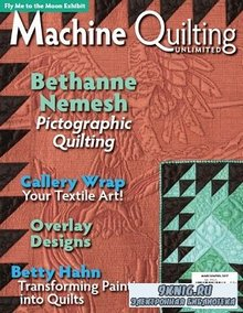 Machine Quilting Unlimited Vol.XVII №2 2017