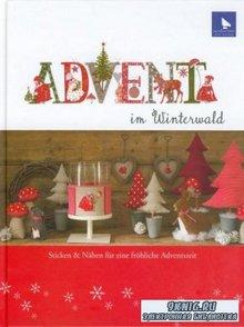 Advent im Winterwald. Рождество в зимнем лесу