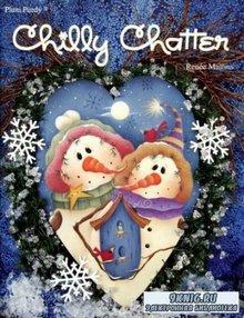 Renee Mullins - Plum Purdy Chilly Chatter. Снеговик, Рождество, декоративная роспись