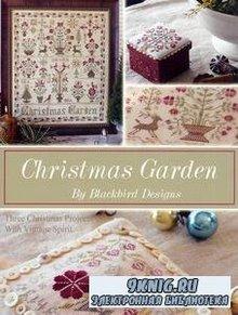Christmas Garden. Three Christmas Projects with Vintage Spirit. Рождественская вышивка с винтажными элементами