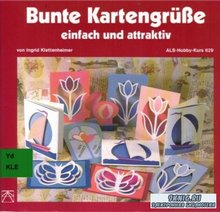 Klettenheimer Ingrid - Bunte Kartengrube einfach und attraktiv. Открытки