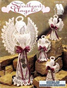 Annie's Attic - Wilma Bonner - Crochet Sweetheart Angels. Милые ангелы. Вязание крючком