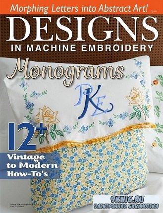 Designs In Machine Embroidery №96 2016