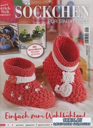 Meine Strick-Welt MW003 2019 Sockchen fur Babyfusse