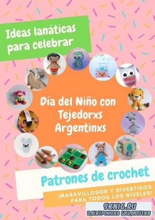 Día del Niño con Tejedorxs Argentinxs. Patrones de crochet