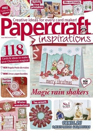 Papercraft Inspirations №198 2019 Christmas