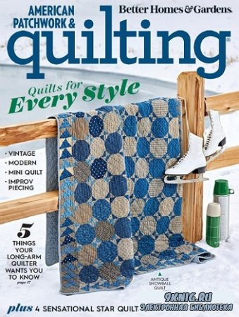 American Patchwork & Quilting №162 2020