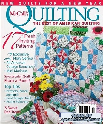 McCall's Quilting - January/February 2015