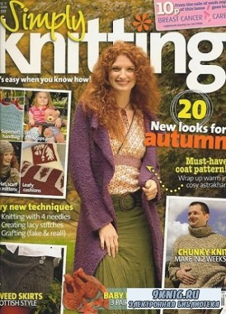 Simply Knitting - October 2005