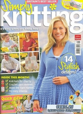 Simply Knitting №45 2008