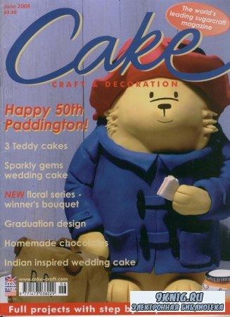 Cake Craft & Decoration - June 2008