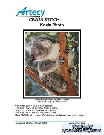 Artecy Cross Stitch - Koala