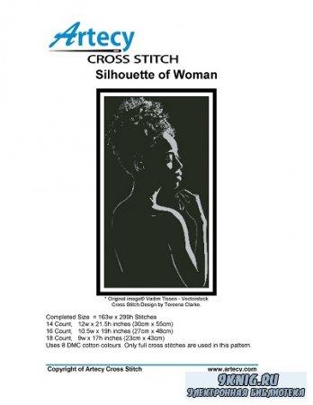 Artecy Cross Stitch - Silhouette of Woman