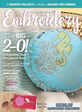 Creative Machine Embroidery - Summer 2021