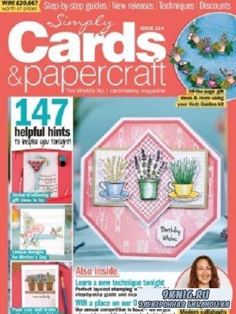 Simply Cards & Papercraft №214 2021