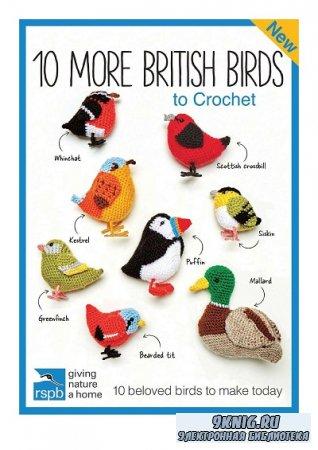 10 More British Birds to Crochet